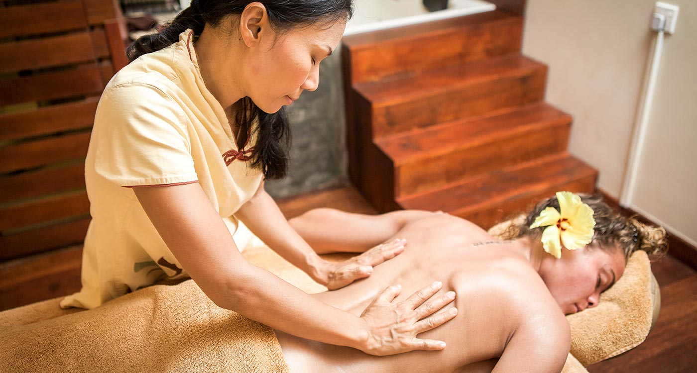 Spa Services at Amaya Beach Resort in Pasikuda