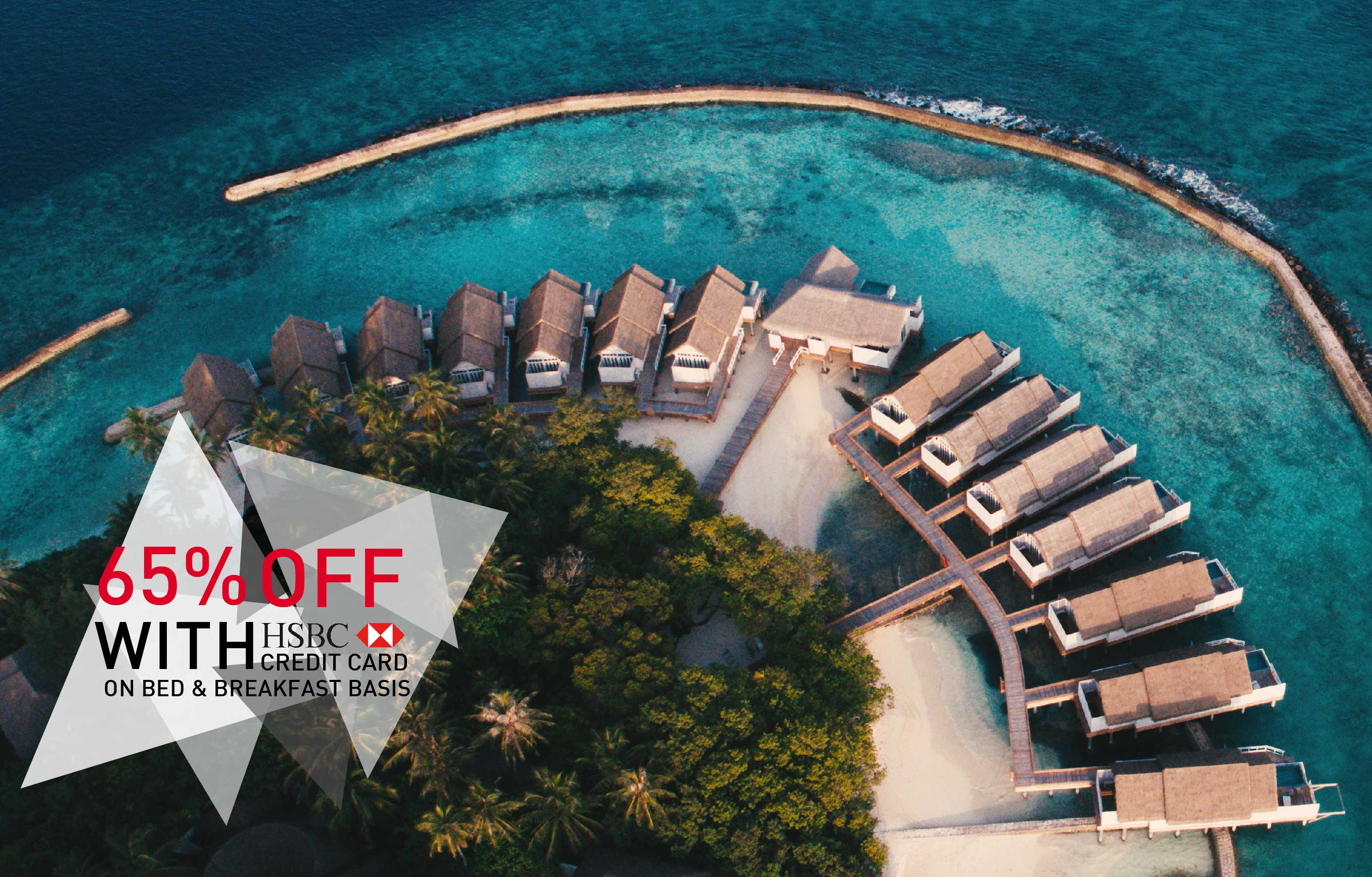 65% Off Exclusive Offer for HSBC Credit Cardholders