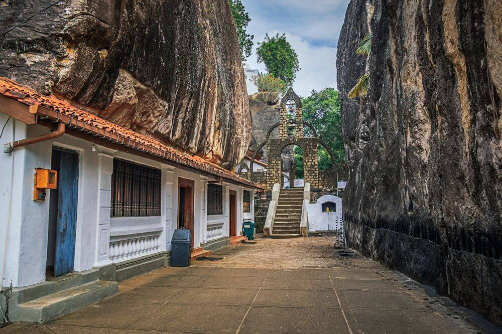 Aluvihare Rock Temple Sri Lanka