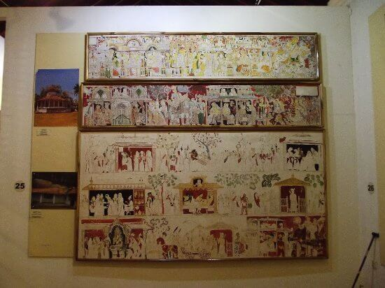Paintings at Painting Museum Dambulla