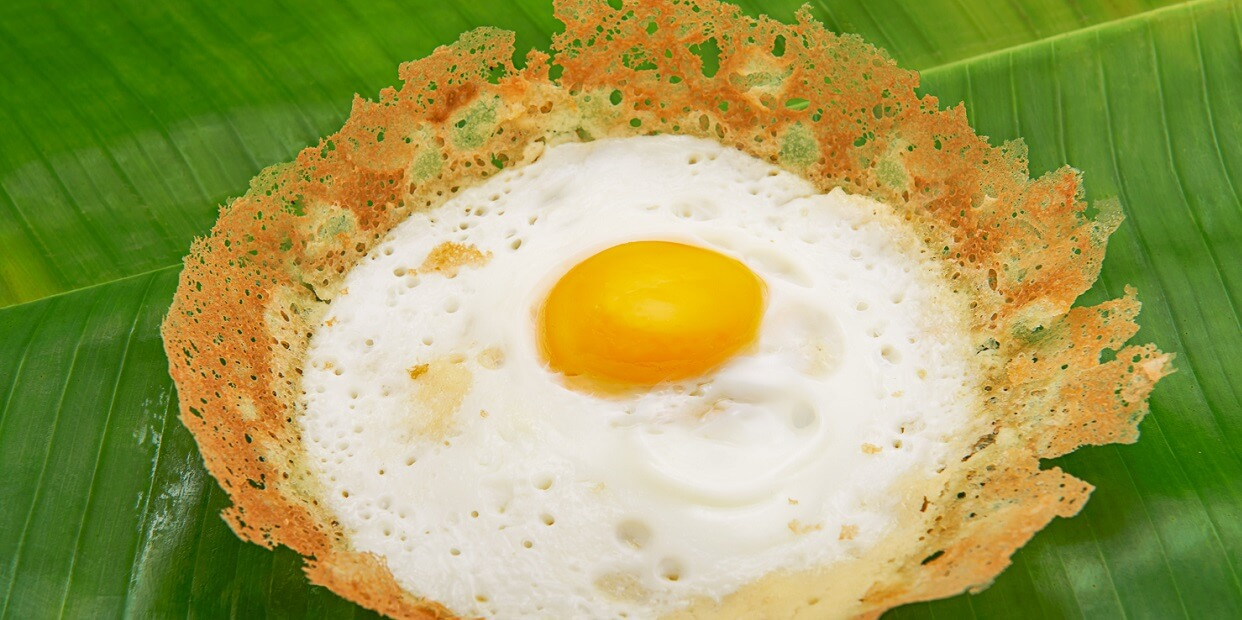 Egg Hoppers - Sri Lankan Recipes