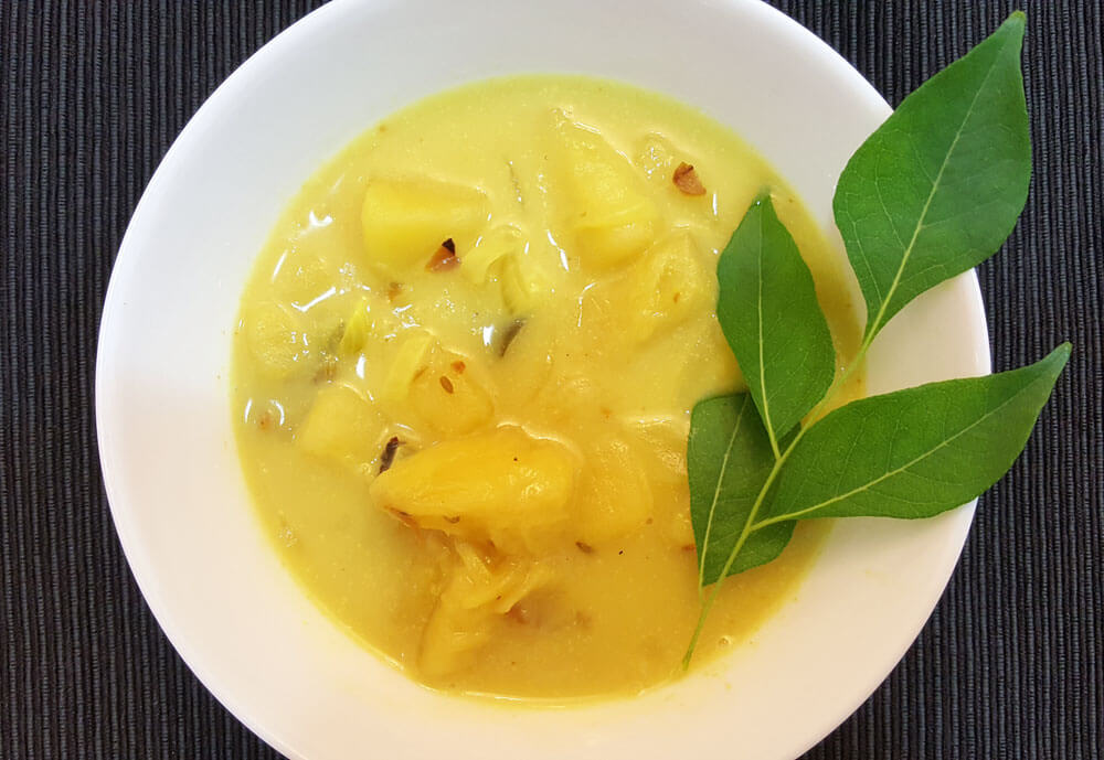 Breadfruit Curry in Sri Lanka