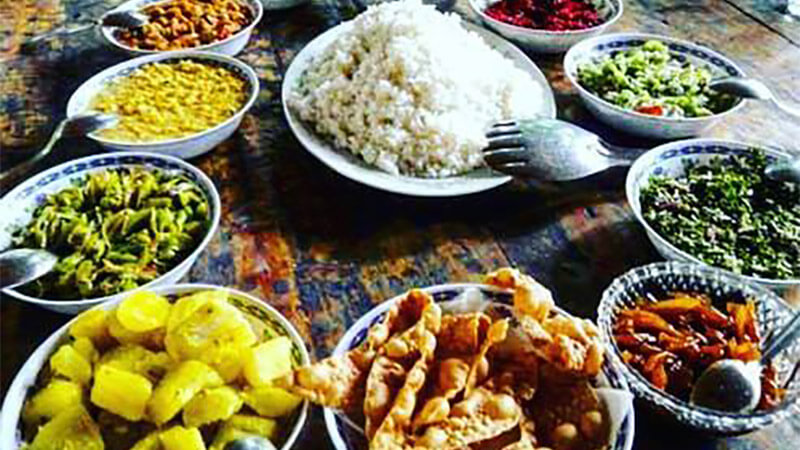 Food for vegetarians in Sri Lanka