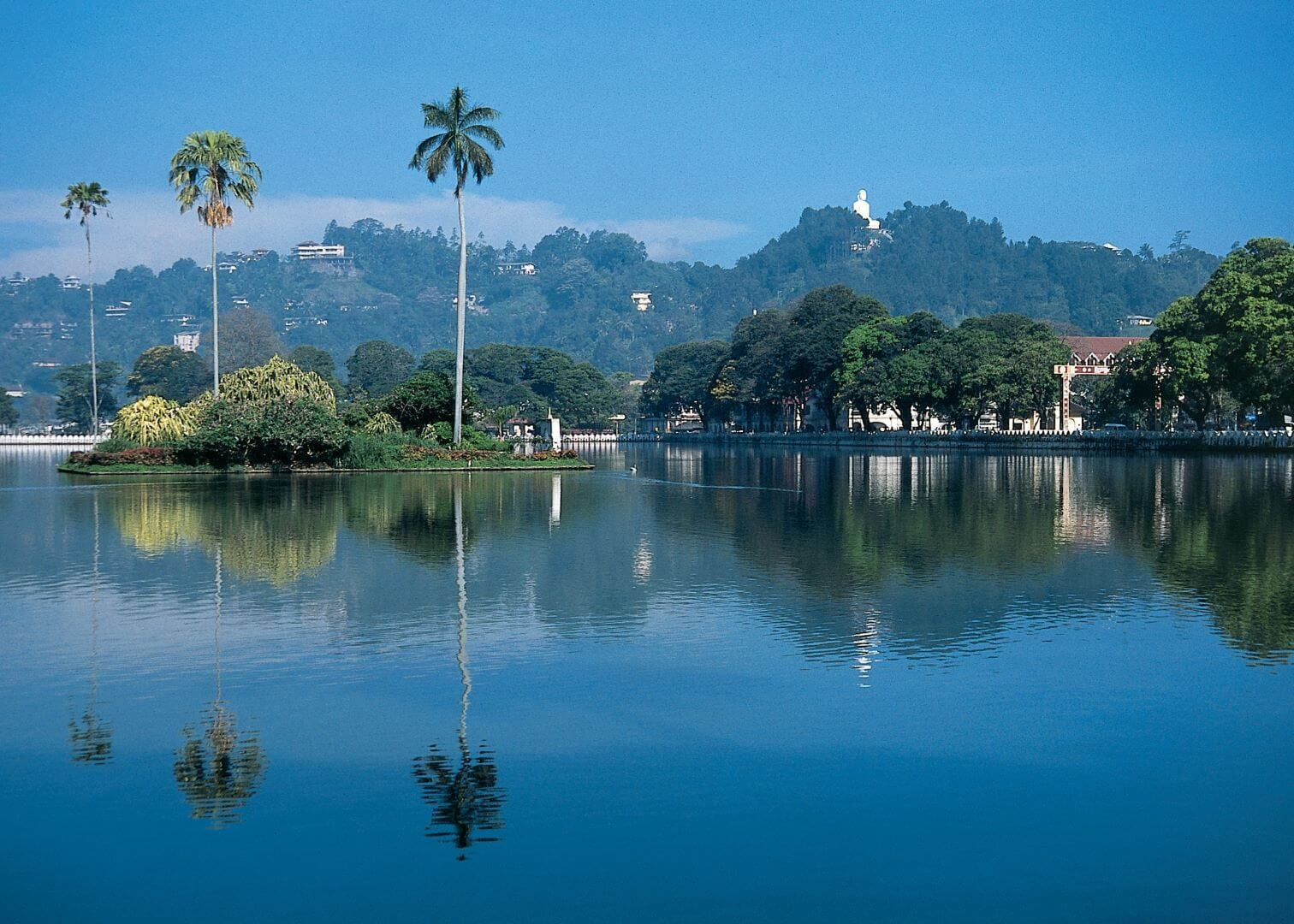 Kandy Lake Sri Lanka