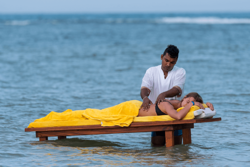A Beach Massage at Amaya Beach Pasikudah