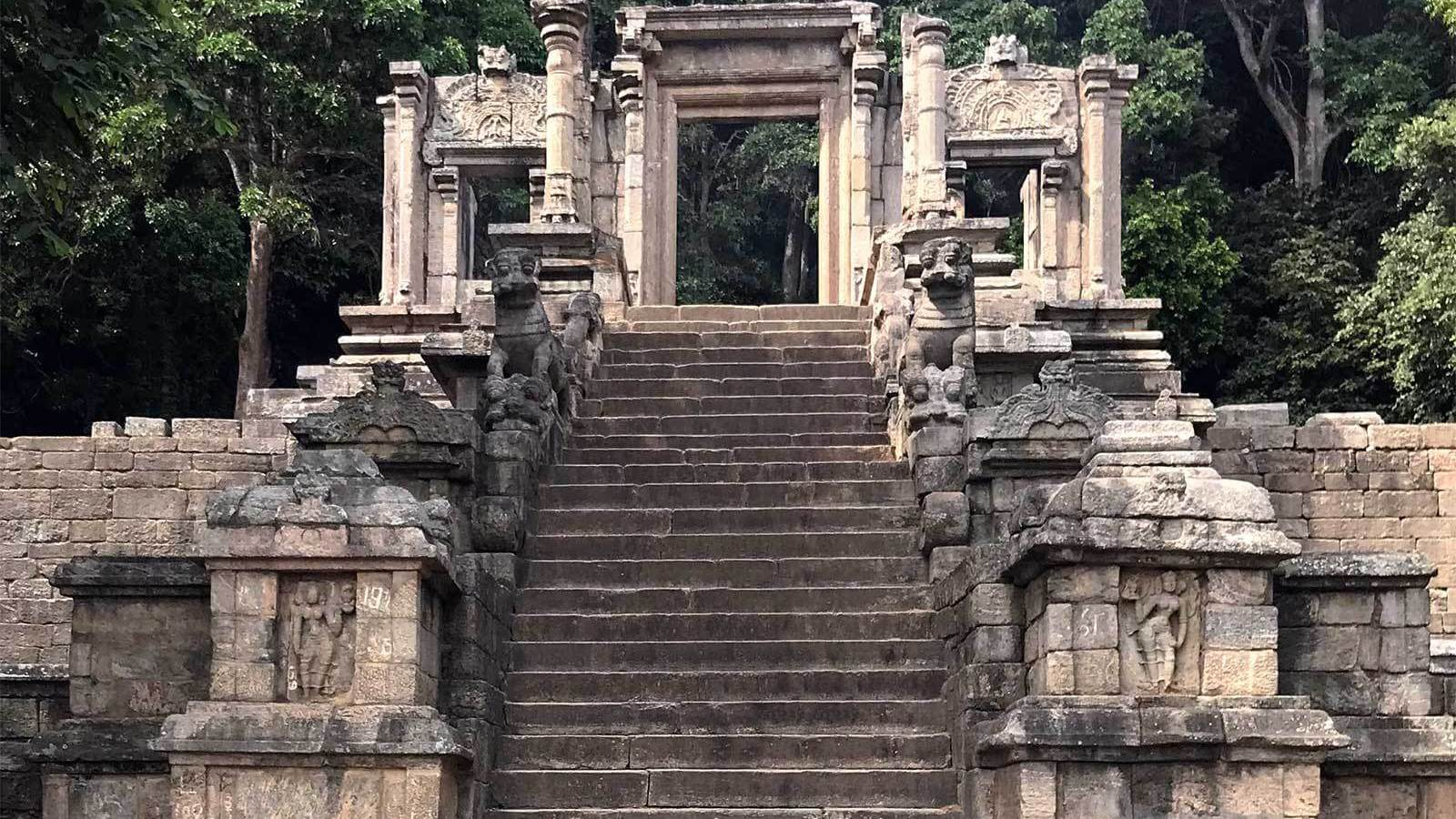 ancient walkways of sri lanka